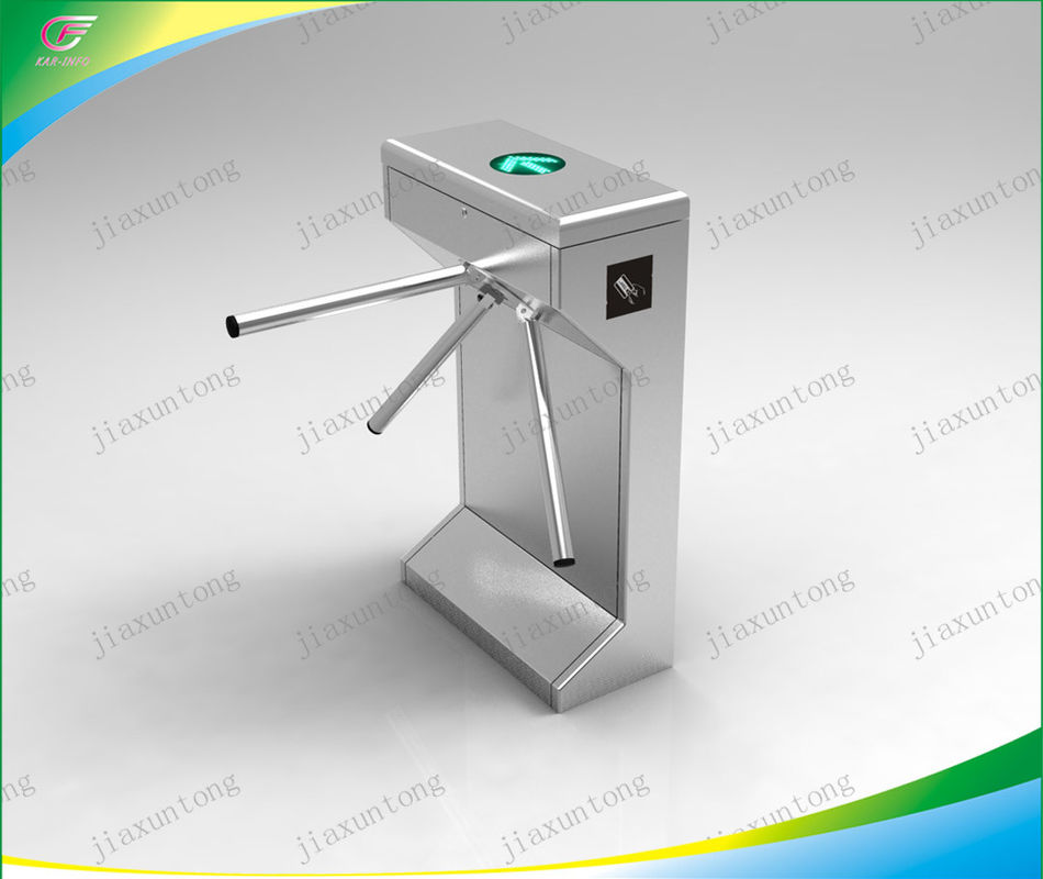 Security Bi-Directional Tripod Turnstile Gate Control System 110/220-240V