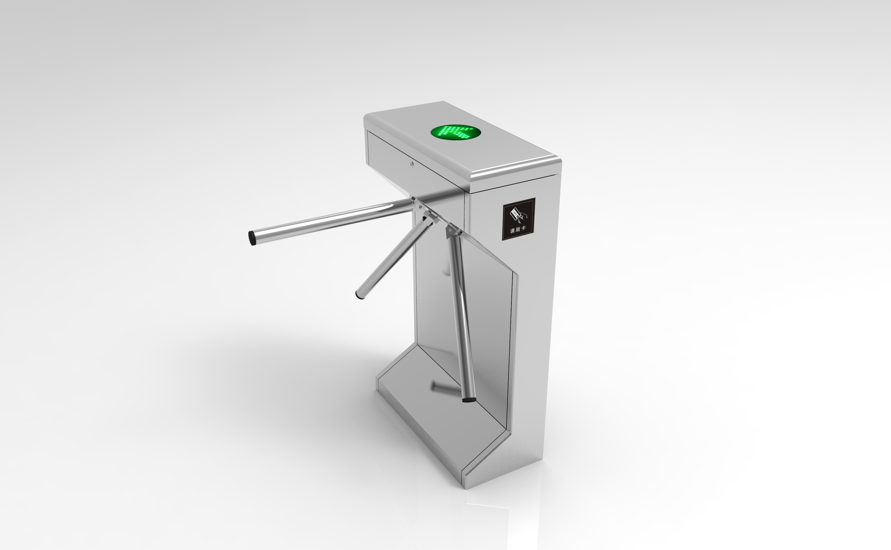 Automatic Access Control System Tripod Turnstile Gate